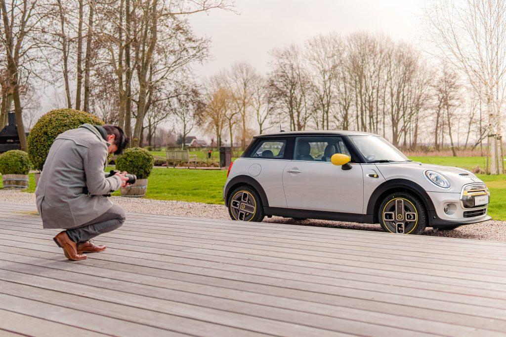 Een fotoshoot van uw eigen BMW of MINI
