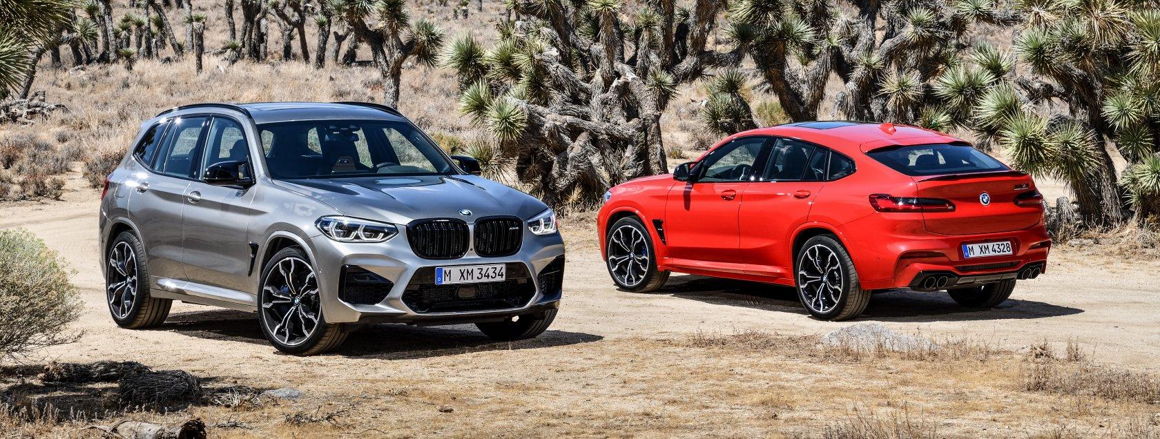 De nieuwe BMW X3M en BMW X4M