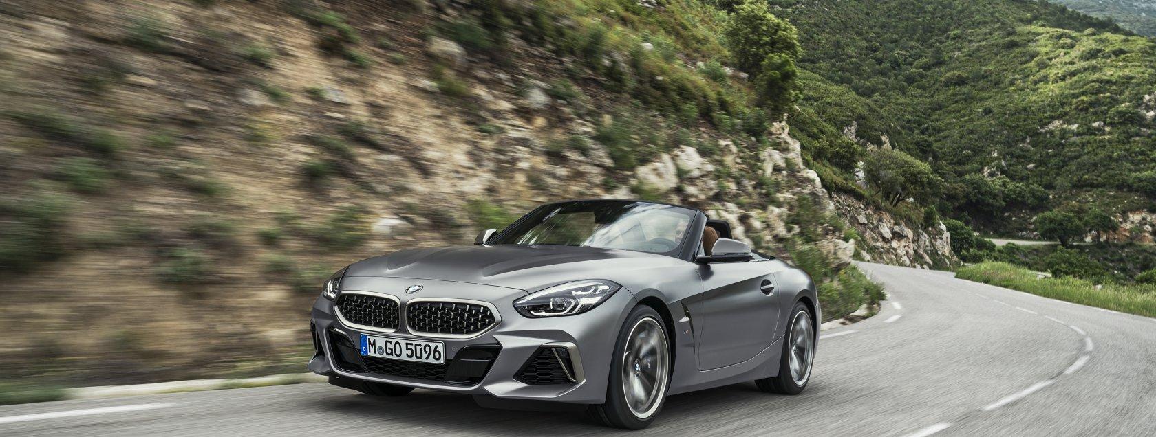 De nieuwe BMW Z4