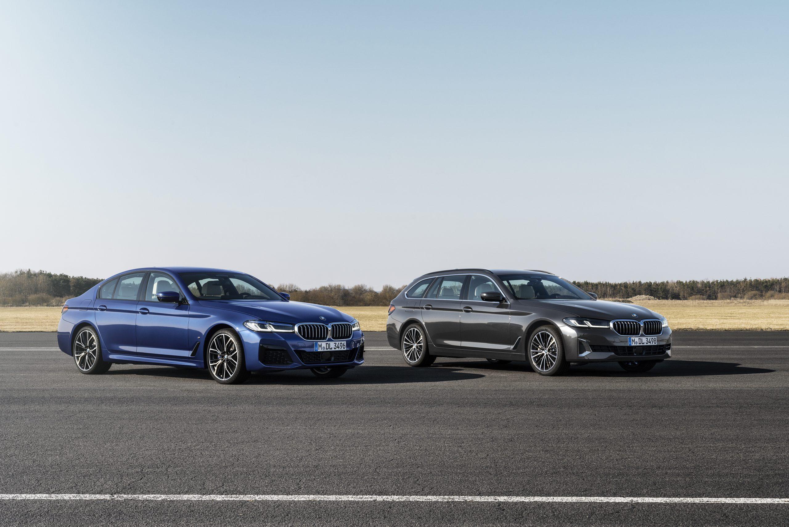 De nieuwe BMW 5 Serie