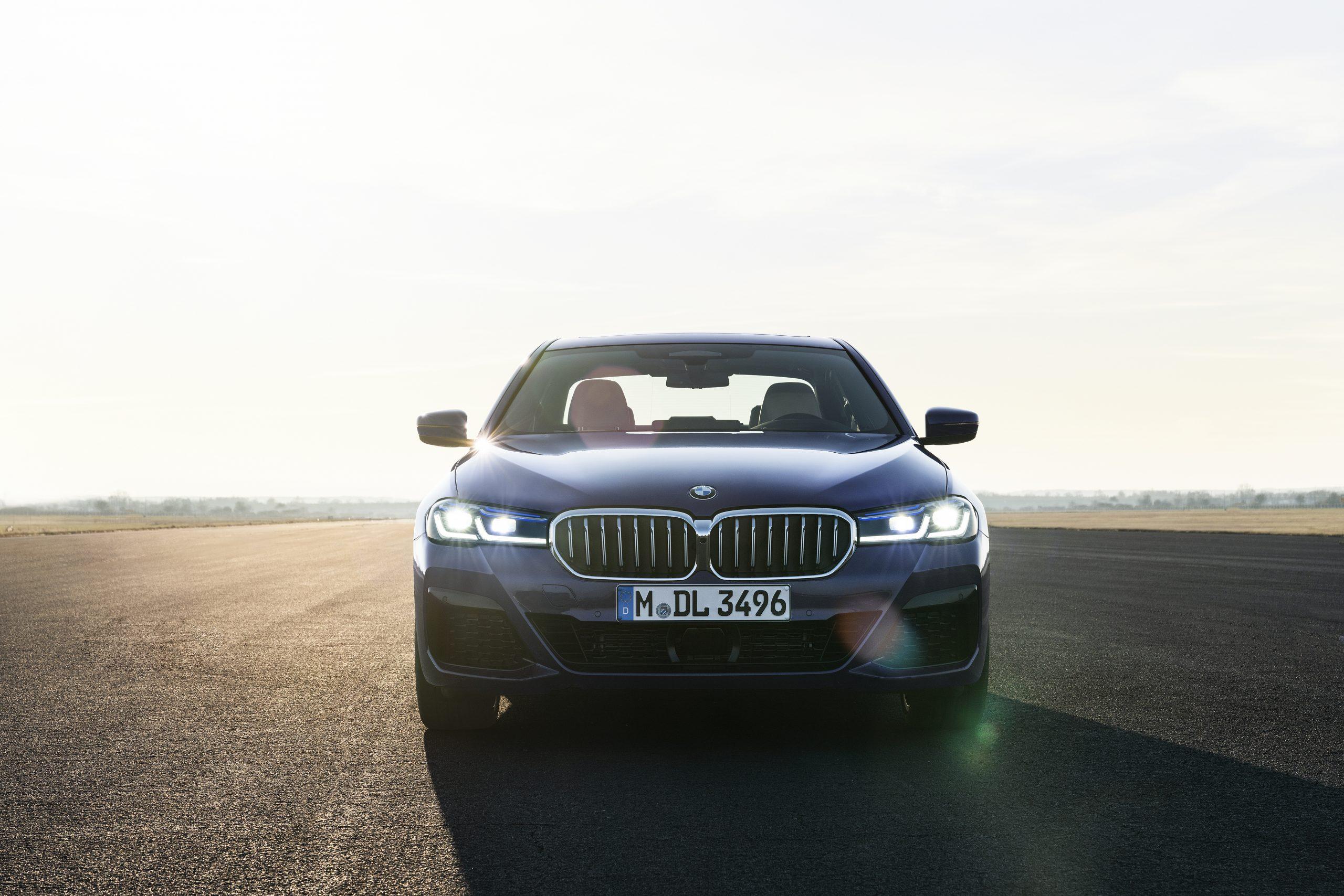 De BMW 5 Serie Launch Edition