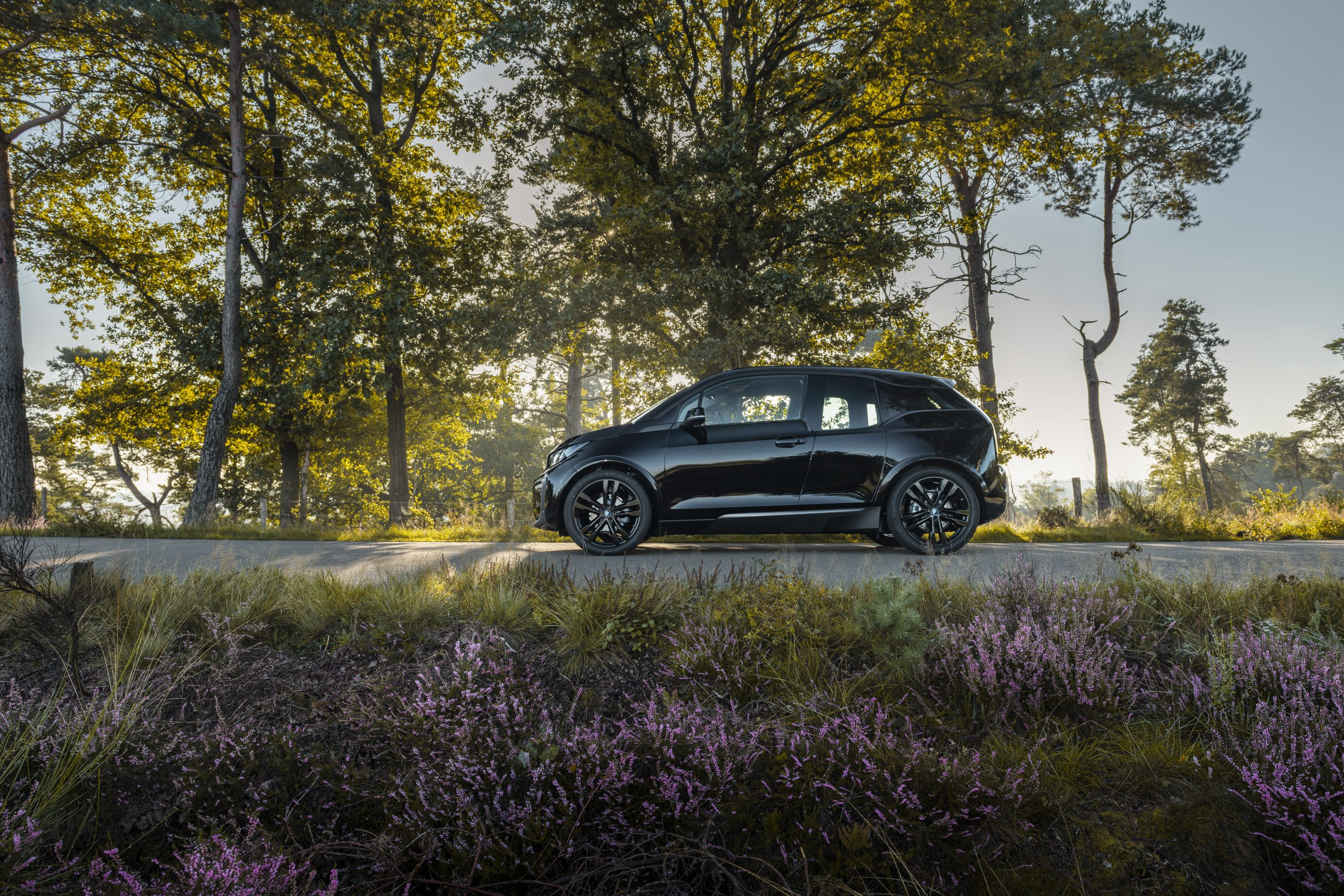 De BMW i3 Dark Shadow Edition