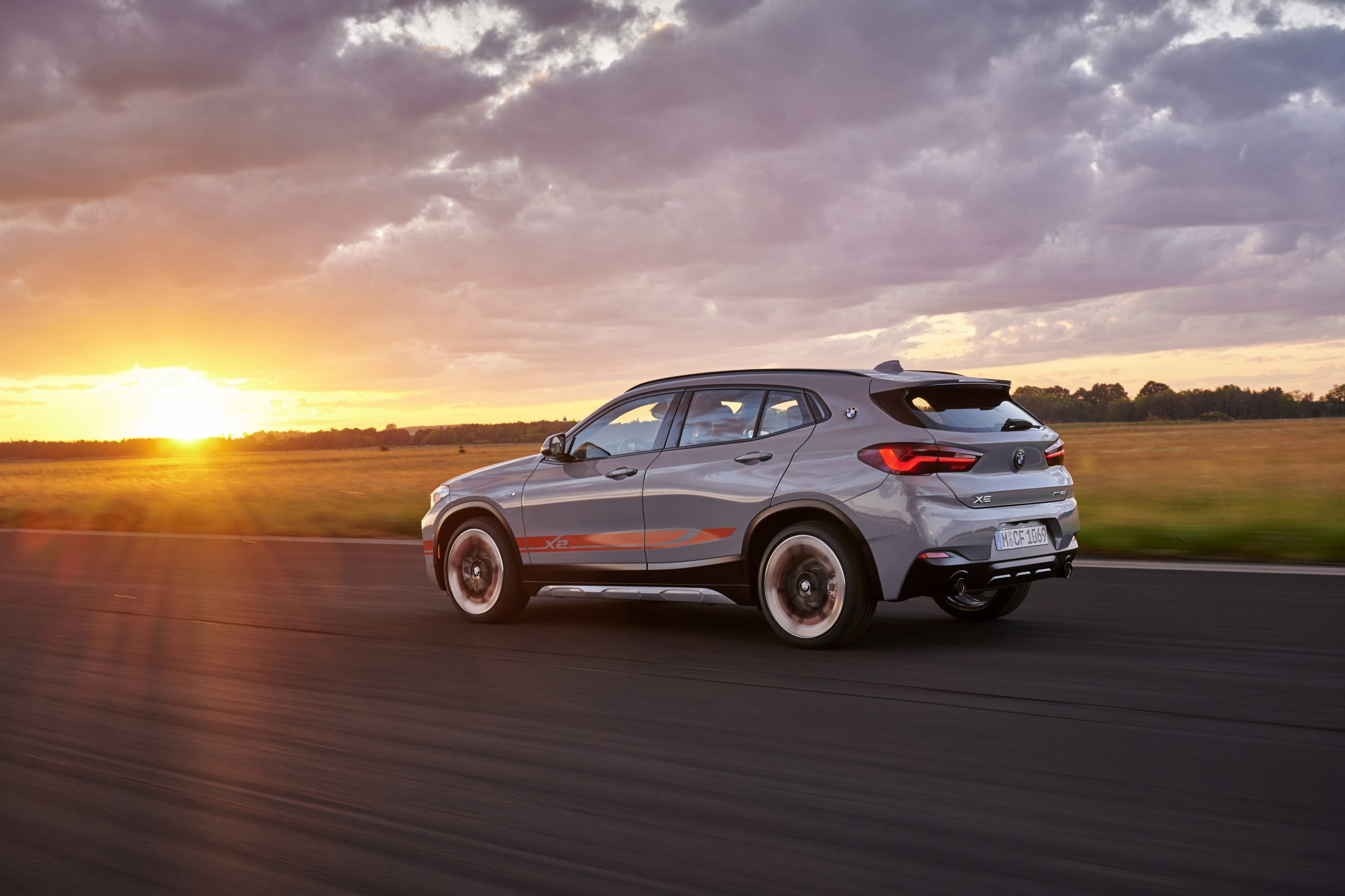 De BMW X2 M Mesh Edition