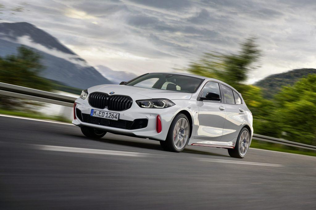 De BMW 128ti
