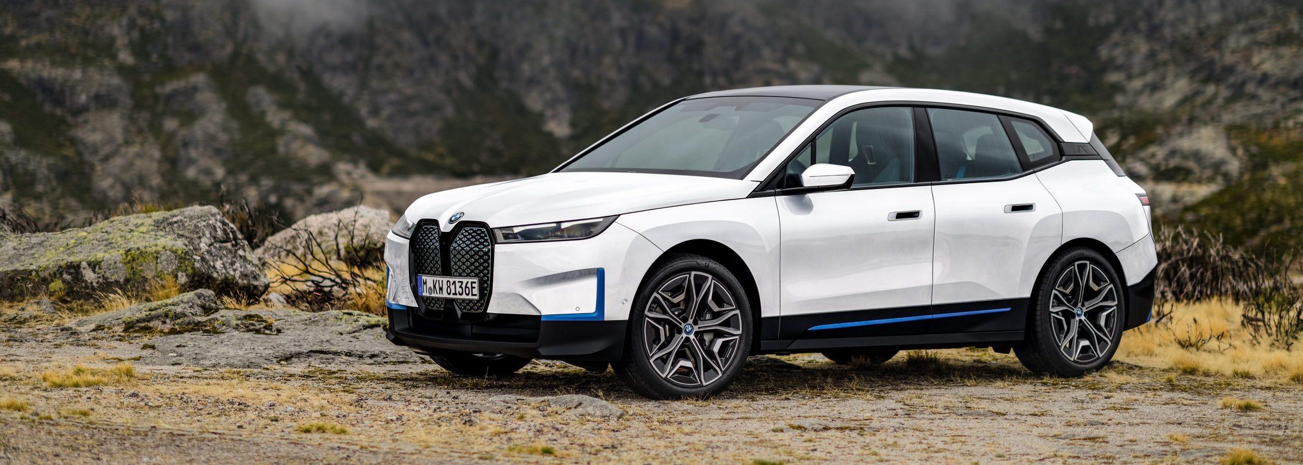 De BMW iX