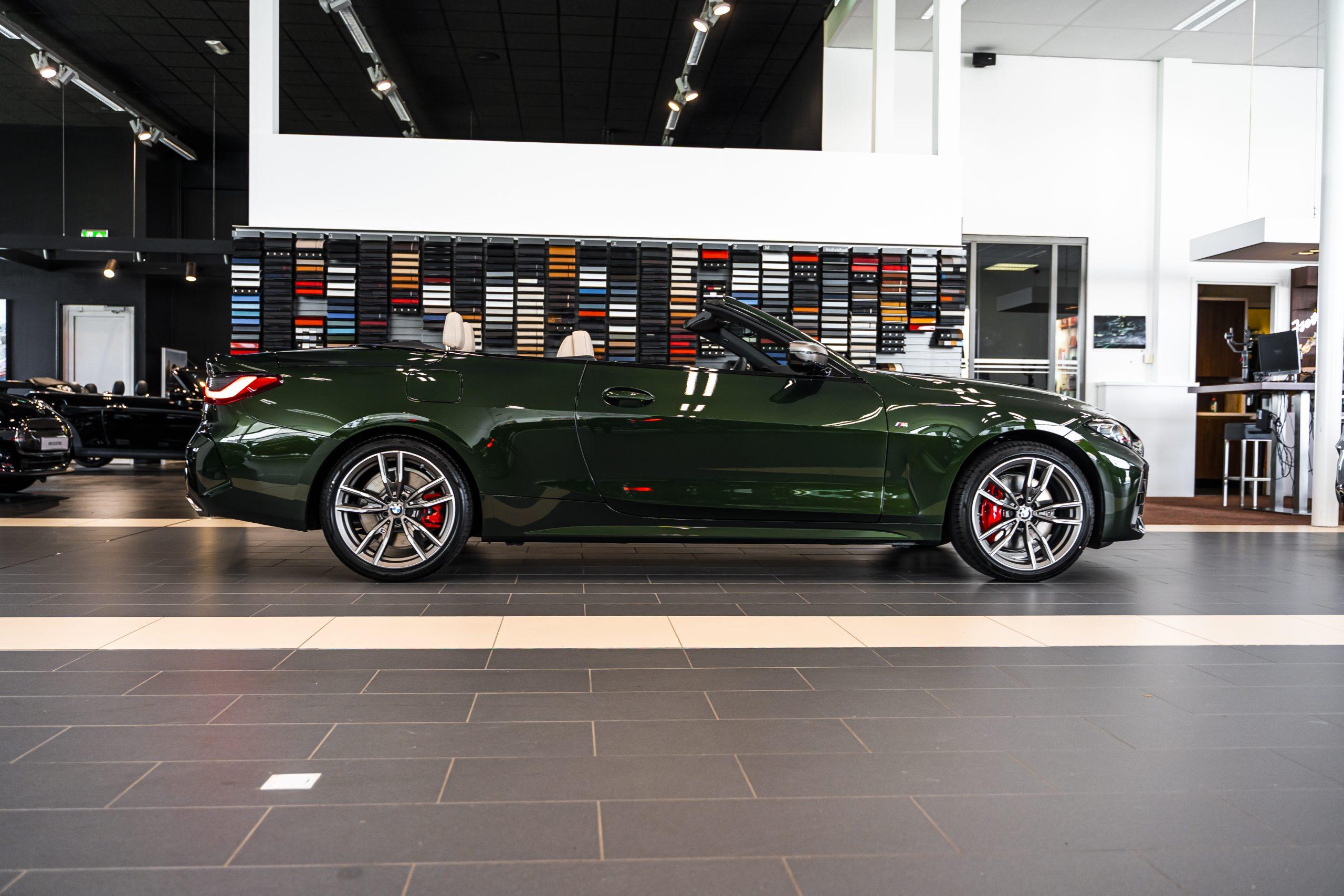 Ontdek de nieuwe BMW 4 Serie Cabrio
