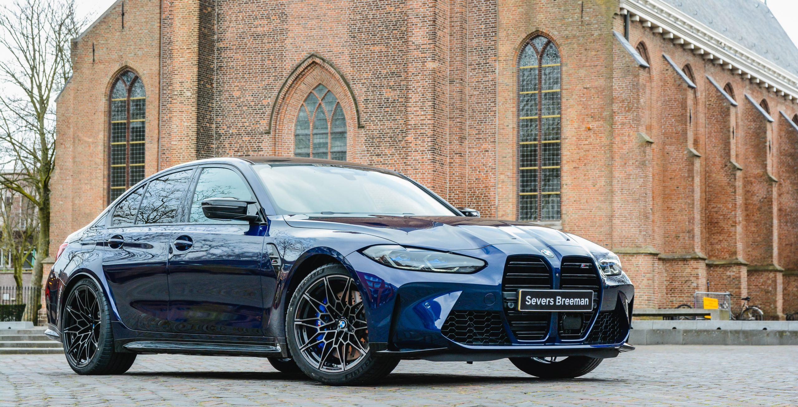 De nieuwe BMW M3 Sedan en BMW M4 Coupé
