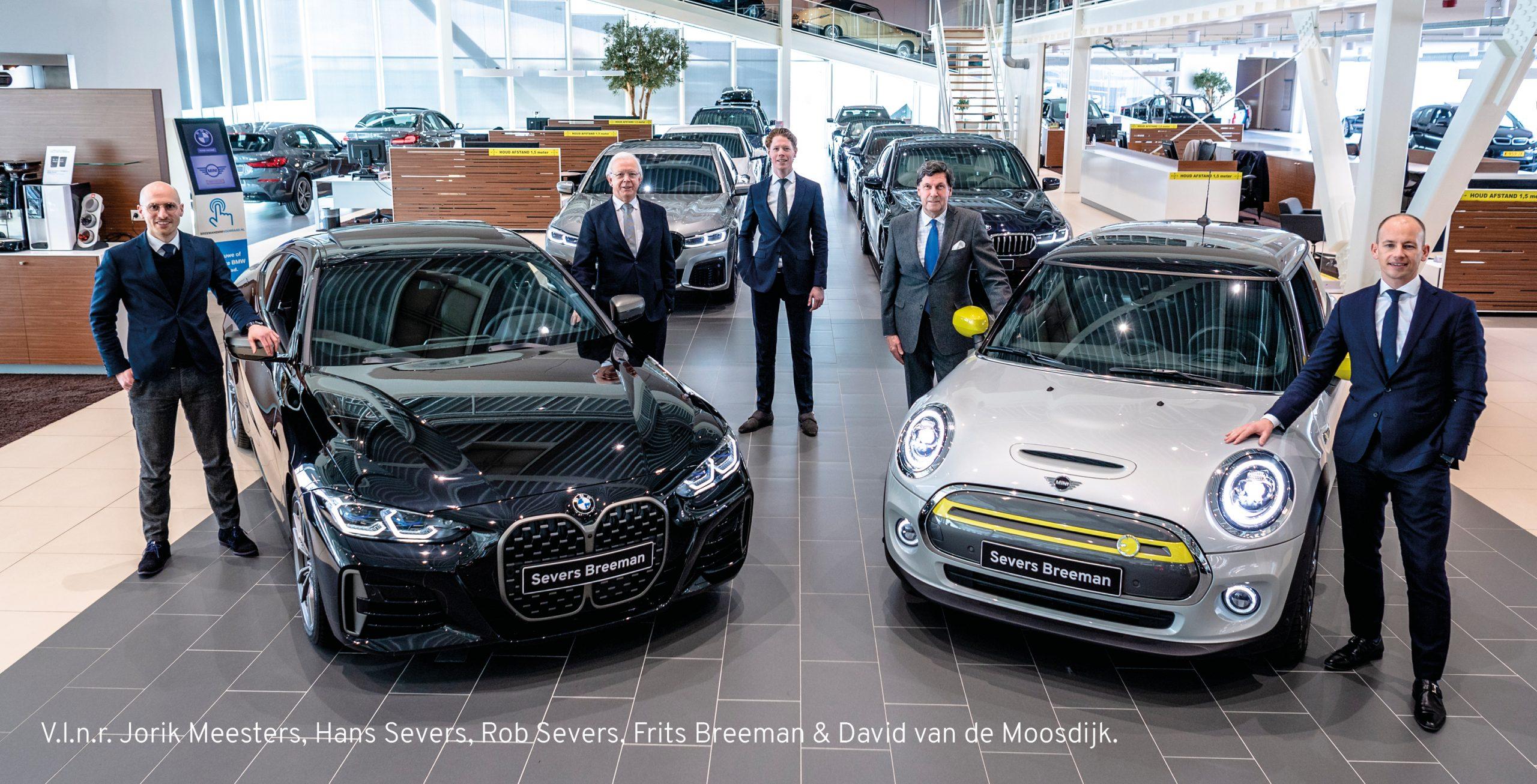 BMW en MINI dealerbedrijven Hans Severs en Breeman bundelen hun krachten. Samen sterker!