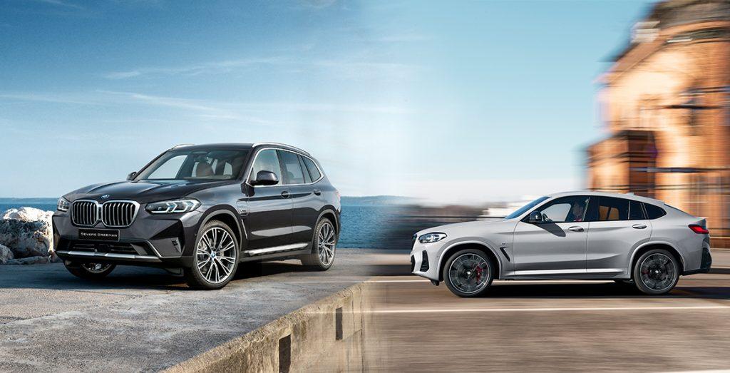De nieuwe BMW X3 en BMW X4