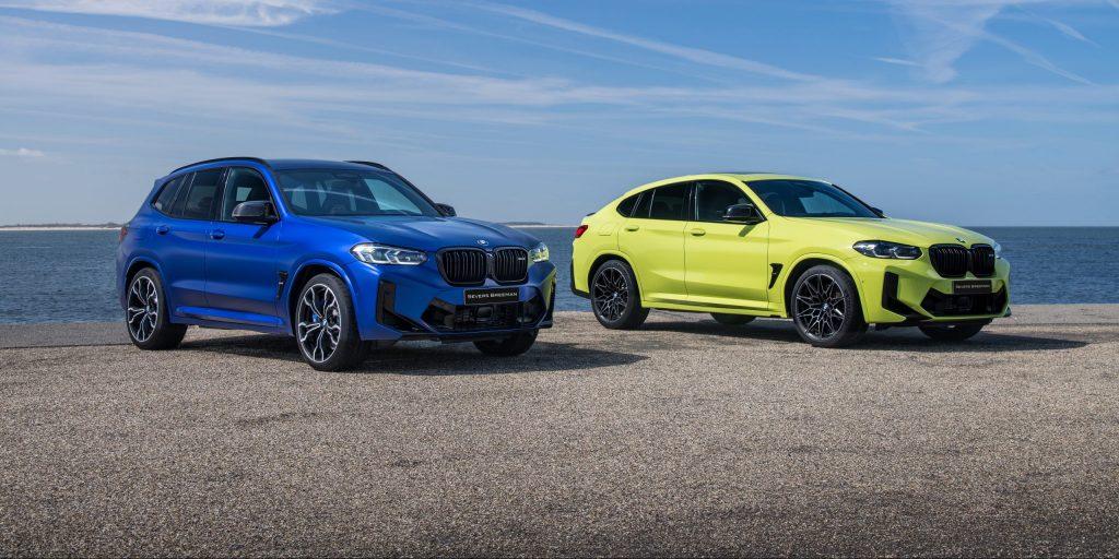 De nieuwe BMW X3 M en X4 M