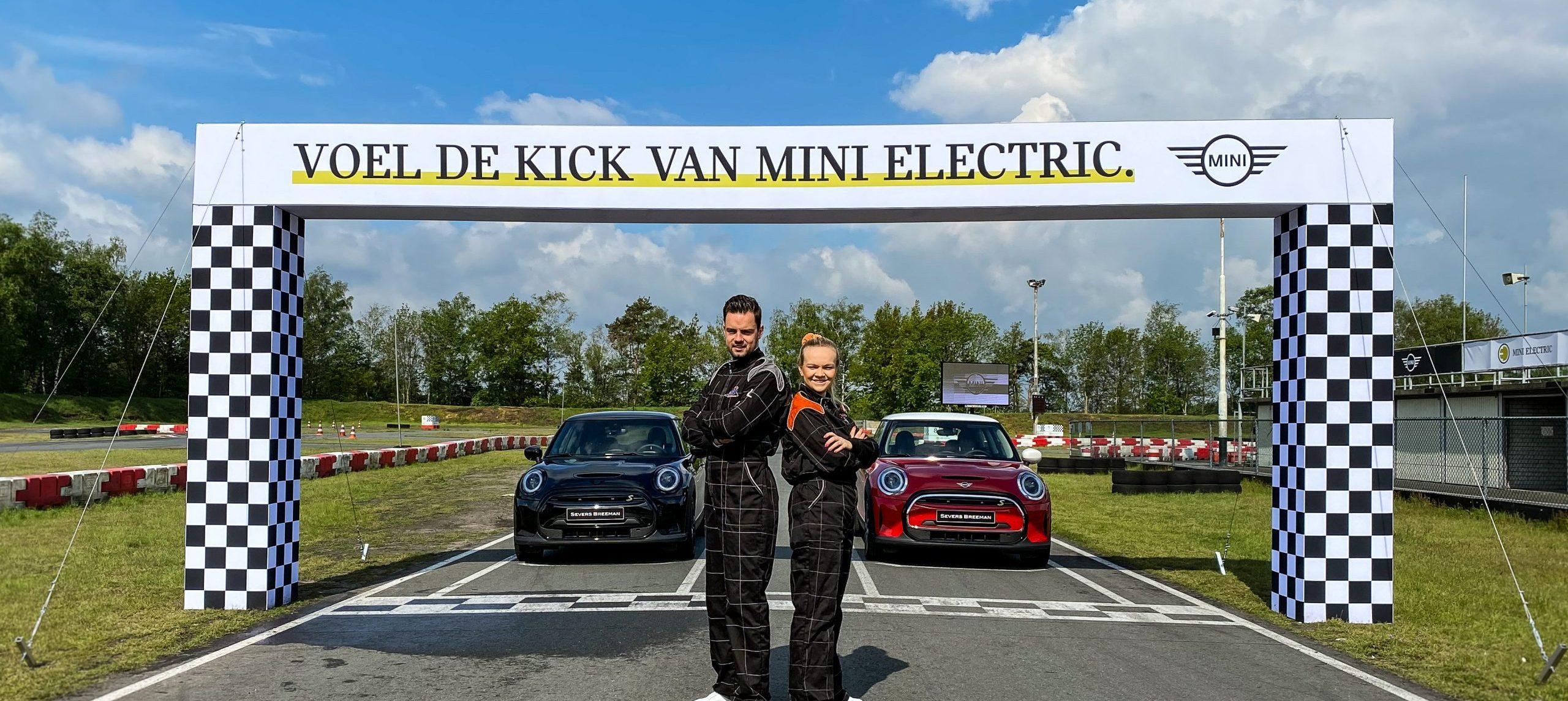 Go-kart feeling van de MINI Electric