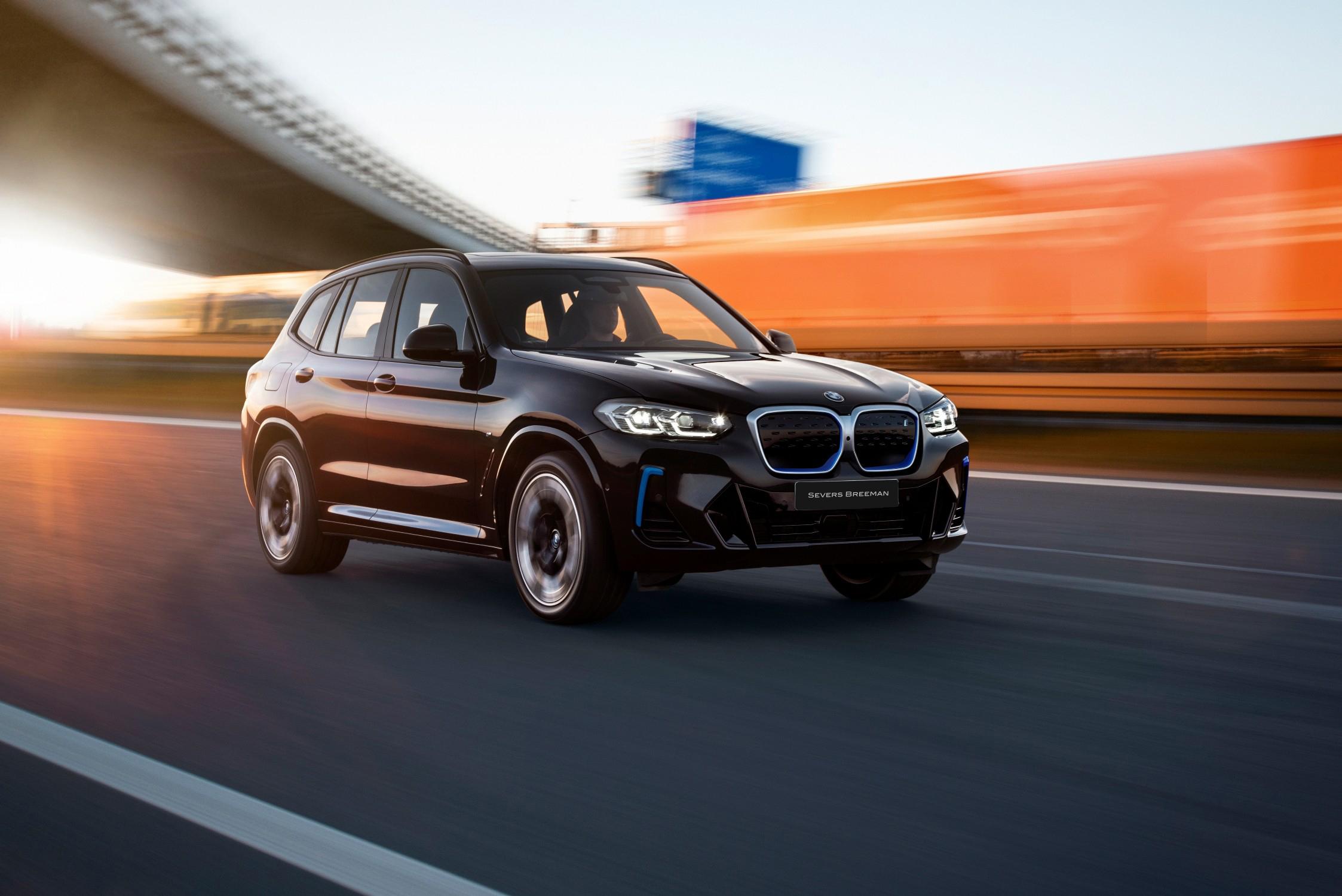 De nieuwe BMW iX3